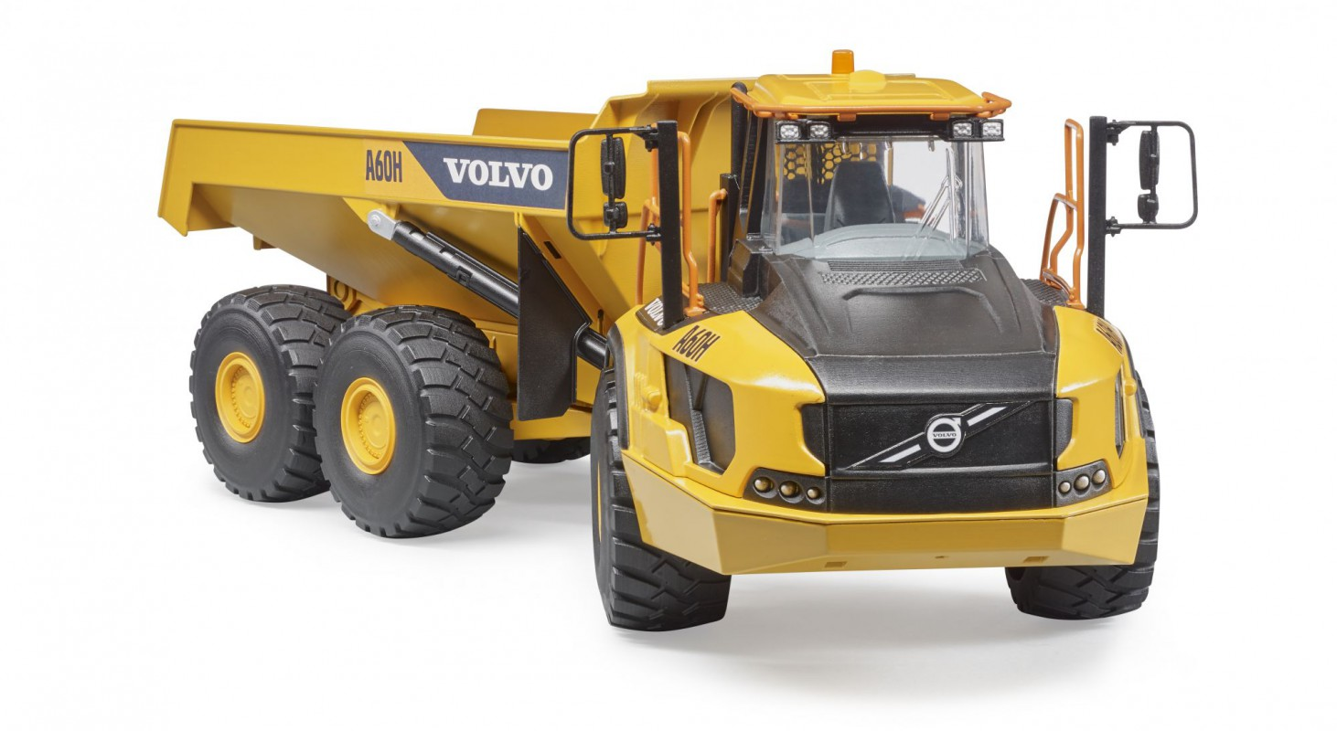 bruder volvo a60h knikdumper 02455 bentoys. Black Bedroom Furniture Sets. Home Design Ideas