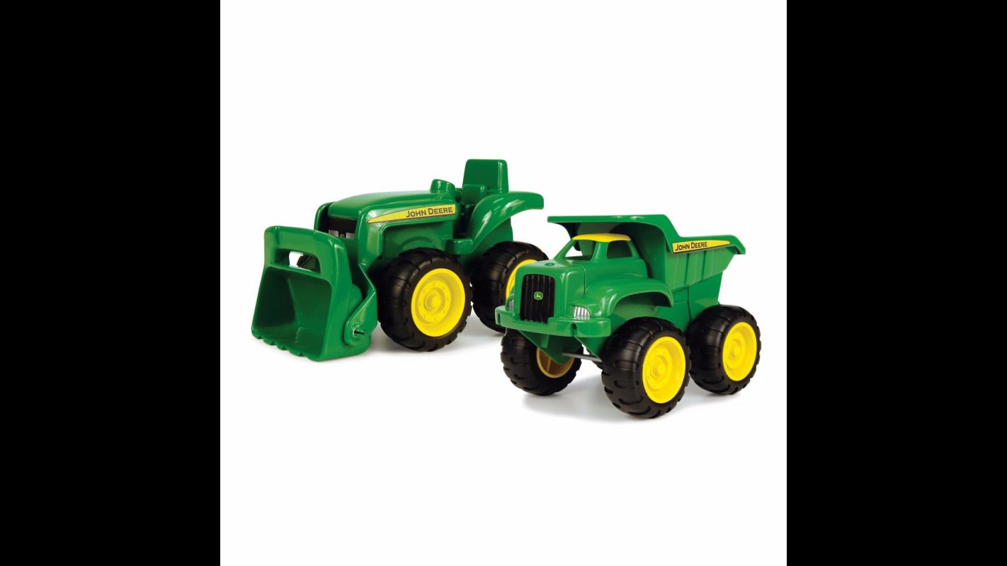 John Deere Toys Set Van John Deere Tractor En Dumper 42952 Bentoys