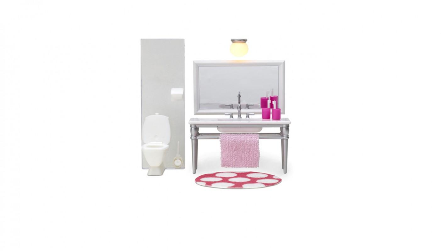 badkamermeubel spiegel en toilet 602087 lundby living