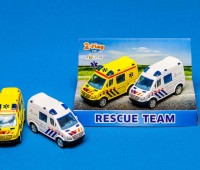 Ambulance en politieauto 1