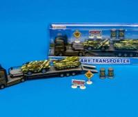 Militaire transporter met tanks 1
