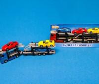 Transporter met constructievoertuigen 1