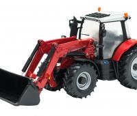 Massey Fergusson 6616 Tractor met voorlader 1