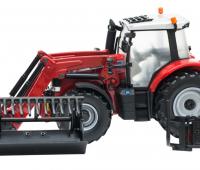 Massey Fergusson 6616 Tractor met voorlader 2