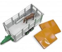 Veetransport aanhanger met koe 3