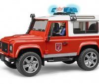 Land Rover Brandweerauto met brandweerman 3