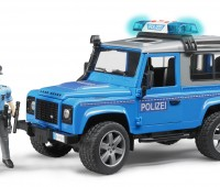 Land Rover Politieauto met politieagent 1