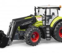 Claas Axion 950 tractor met voorlader 1