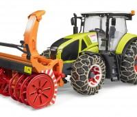 Claas tractor met sneeuwblazer  1