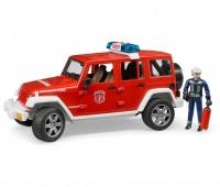 Jeep brandweerauto met brandweerman 1