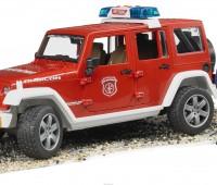 Jeep brandweerauto met brandweerman 3