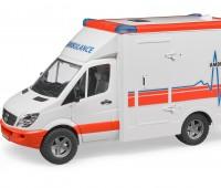 Ambulance met broeder 1