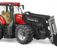 Case IH Optum 300 CVX tractor met voorlader 1