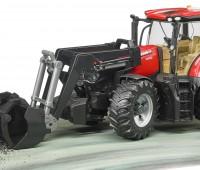 Case IH Optum 300 CVX tractor met voorlader 2