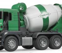 MAN TGS vrachtwagen met betonmixer 1