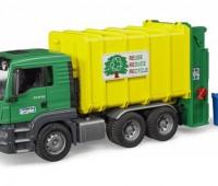 MAN TGS vuilniswagen met achterlader 1