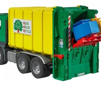 MAN TGS vuilniswagen met achterlader 3