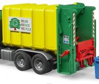 MAN TGS vuilniswagen met achterlader 2