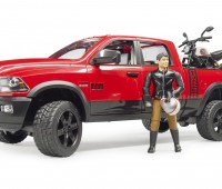 Dodge Power Wagon met Ducati motor 1