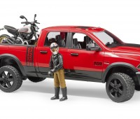 Dodge Power Wagon met Ducati motor 2
