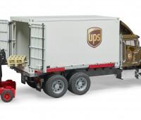 MACK Granite UPS Truck met vorkheftruck 3