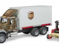 MACK Granite UPS Truck met vorkheftruck 1