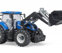 New Holland T7.315 tractor met voorlader 2