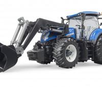New Holland T7.315 tractor met voorlader 3