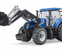 New Holland T7.315 tractor met voorlader 1