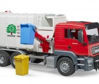 MAN TGS vuilniswagen met zijlader 1