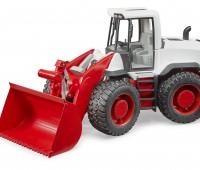 Rood met witte XL 5000 Shovel  1