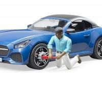 Roadster met bestuurder 2