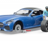 Roadster met bestuurder 3