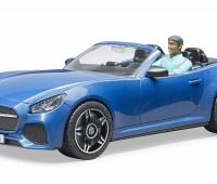 Roadster met bestuurder 1