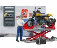 Werkplaats voor motoren met Ducati Scrambler 2