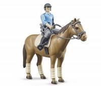 Politieman met paard 1