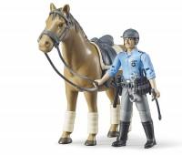 Politieman met paard 2