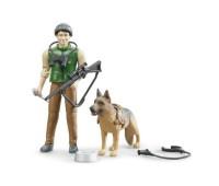 Boswachter met hond 1