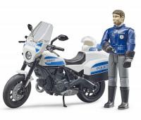 Politiemotor met agent 2