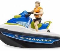 Waterscooter met figuur 2