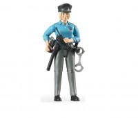 Politieagente met uitrusting 1