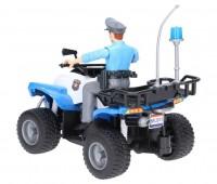 Politiequad met agent 3