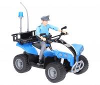 Politiequad met agent 1