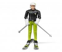Man op ski s 1