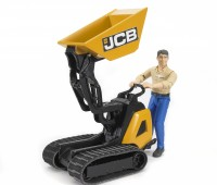 JCB minidumper met bouwvakker 3