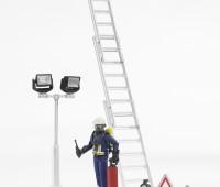 Brandweerman met accessoires 2
