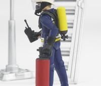 Brandweerman met accessoires 3
