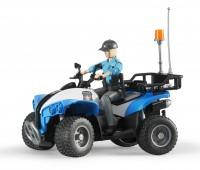 Politiequad met agente 1