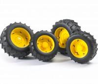 Vier gele tractorbanden 2000 serie 1