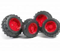 Vier rode tractorbanden 2000 serie 1